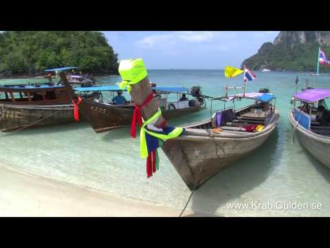 Ao Nang Beach Boat trip to Railay, Koh Poda and more