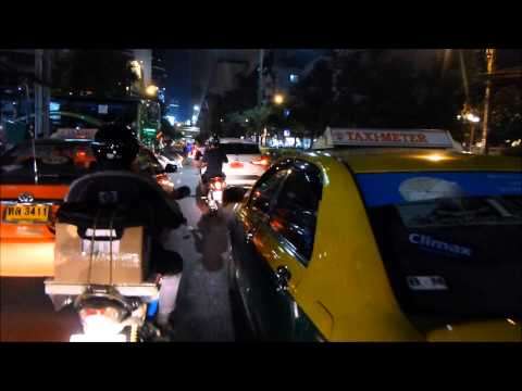 Motorcycle Taxi Trip in Bangkok