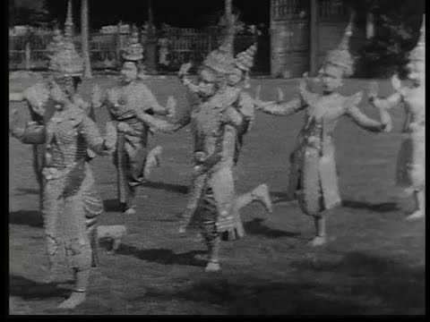 Bangkok in 1932. Thai dance