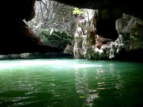 Canoeing and exploring caves in Phuket