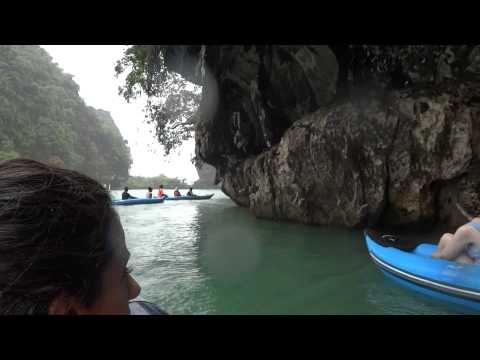 Canoeing - James Bond Island