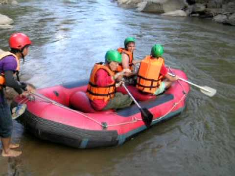 White Water Rafting in Thailand