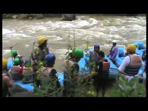 Water Rafting in Krabi, Thailand