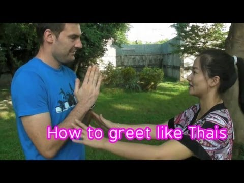 How to greet in Thai