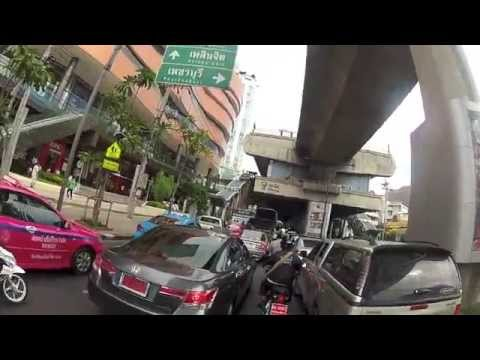 Riding a Scooter in Bangkok