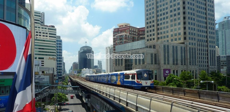 BTS Sky Train, Bangkok